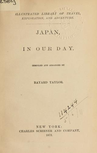 Japan in our day.