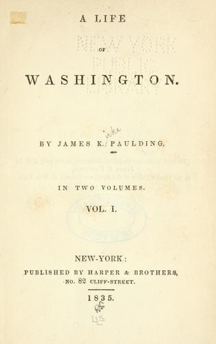 Download A life of Washington