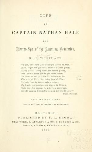 Download Life of Captain Nathan Hale