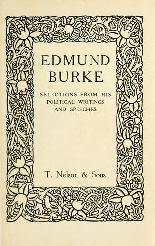 Download Edmund Burke