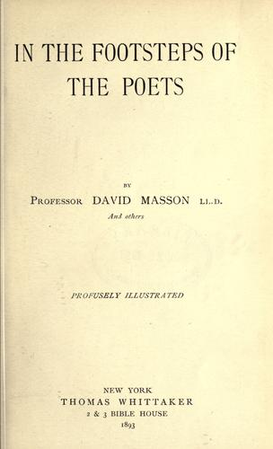 Download In the footsteps of the poets.