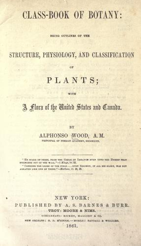 Class book of botany.
