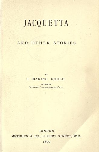 Jacquetta and other stories.