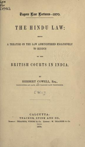 The Hindu law