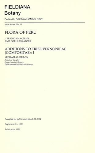 Download Flora of Peru.
