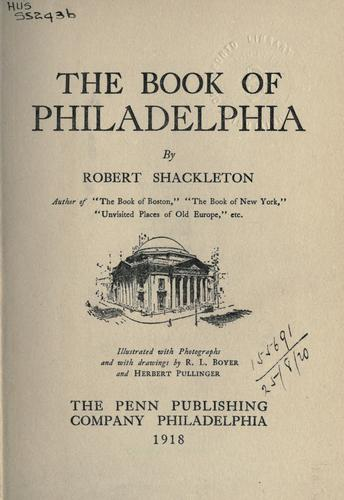 Download The Book of Philadelphia