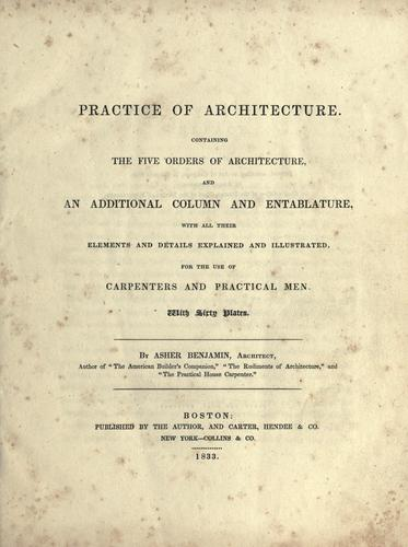 Download Practice of architecture.