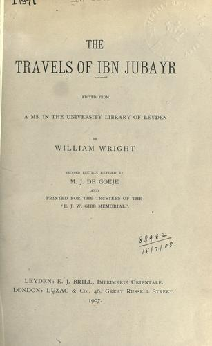 Download Travels of Ibn Jubayr