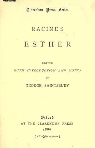 Esther.