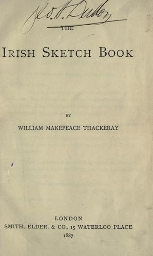 The Irish sketch book.