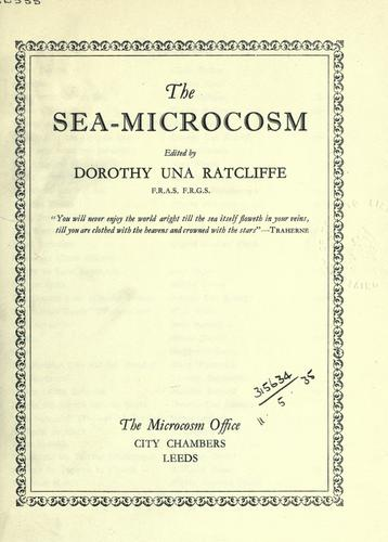 The sea-microcosm.