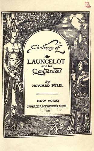 Download The story of Sir Launcelot and his companions