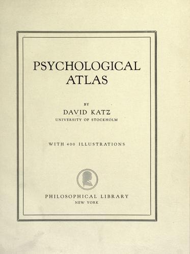 Download Psychological atlas