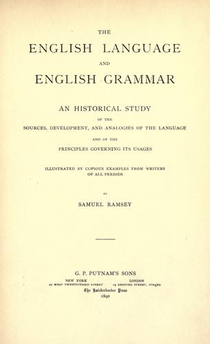 Download The English language and English grammar