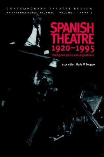 Download Spanish Theatre 1920-1995
