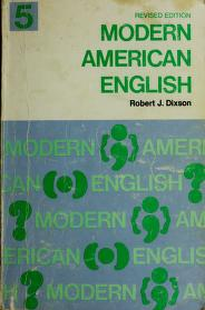 Cover of: Dixson English series | Robert James Dixson