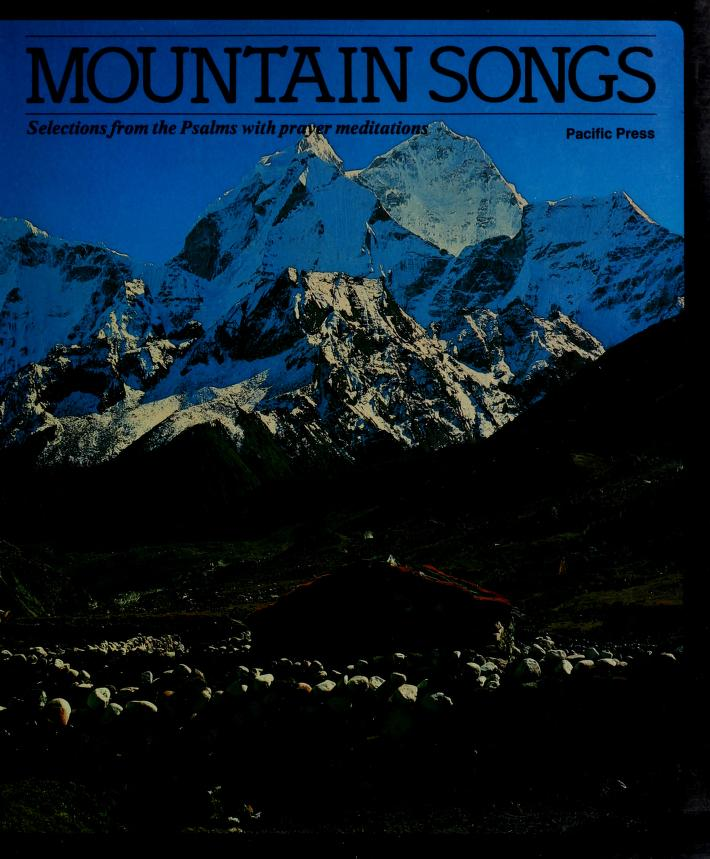 Mountain songs by Marlee Alex