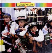 Cover of: Poland (Where We Live) | Donna Bailey, Anna Sproule