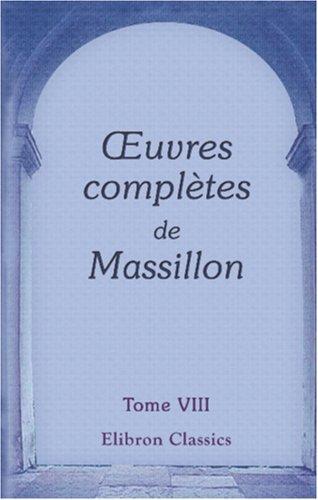 uvres complètes de Massillon