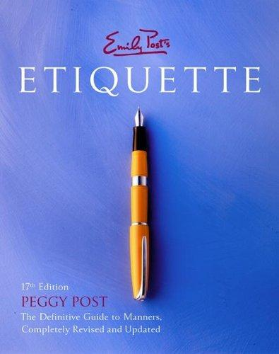 Image 0 of Emily Post's Etiquette, 17th Edition (Thumb Indexed)