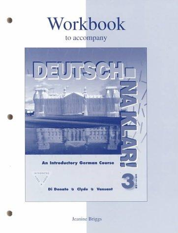 Workbook to accompany Deutsch by DIDONATO