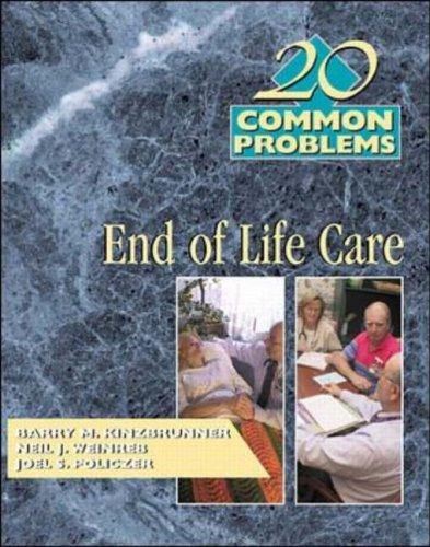 20 Common Problems by Barry M. Kinzbrunner