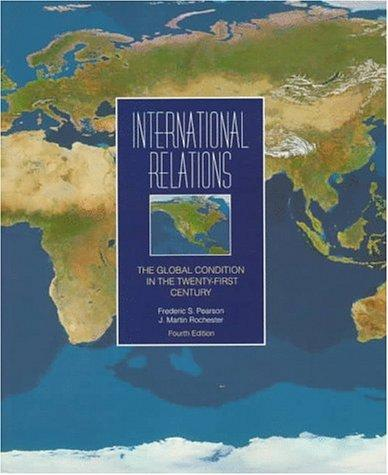 International relations by Frederic S. Pearson