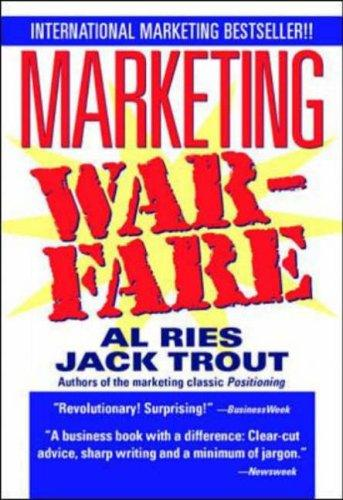 Marketing Warfare by Jack Trout