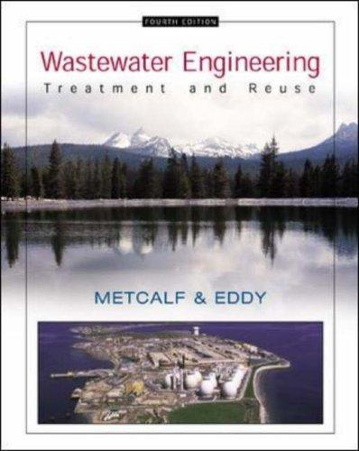 Wastewater Engineering by Franklin L Burton