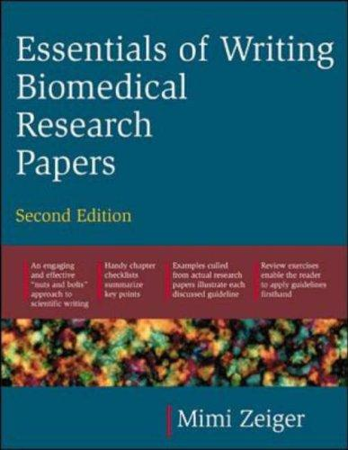 Essentials of Writing Biomedical Research Papers by Mimi Zeiger