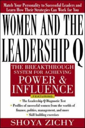 Women and the Leadership Q by Shoya Zichy