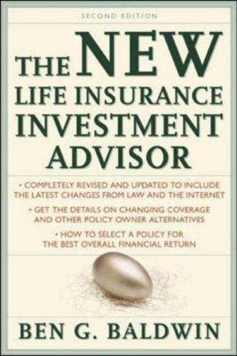 New Life Insurance Investment Advisor by Ben Baldwin