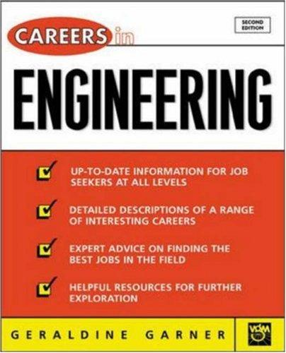 Careers in Engineering, 2nd Ed by Geraldine Garner, Geraldine O Garner