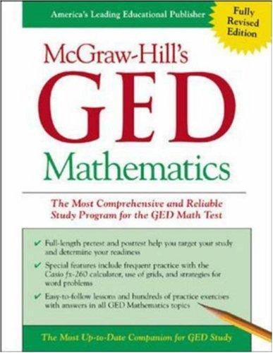 McGraw-Hill's GED Mathematics