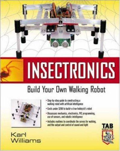 Image 0 of Insectronics : Build Your Own Walking Robot