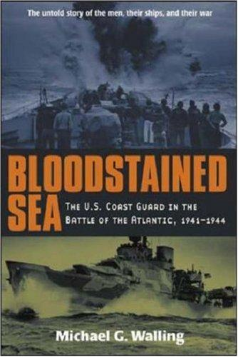 Bloodstained sea