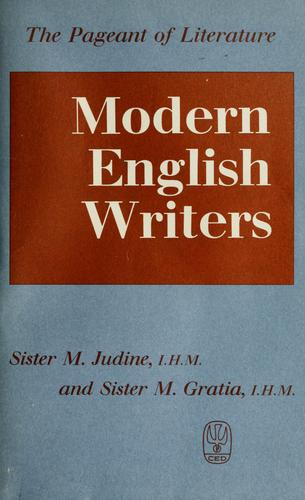 Modern English writers by Sister Judine