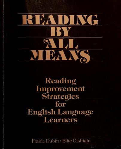 Reading by All Means by Elite Olshtain