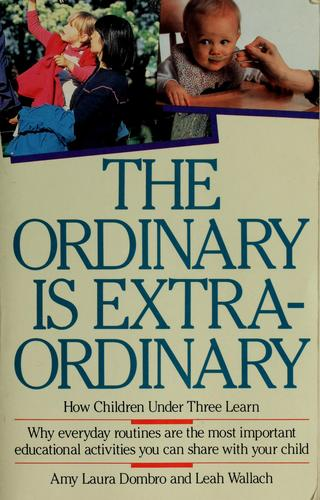The Ordinary Is Extraordinary by Amy Laura Dombro, Leah Wallach