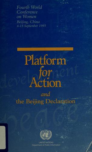 The Beijing Declaration and the Platform for Action by
