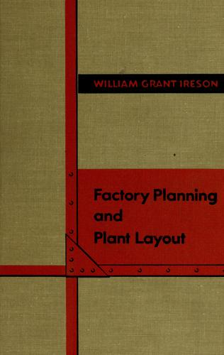 Factory planning and plant layout.