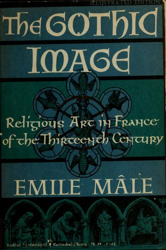 The Gothic image by Emile Mâle