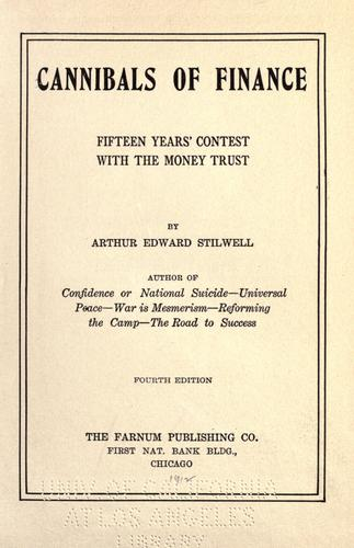 Cannibals of finance