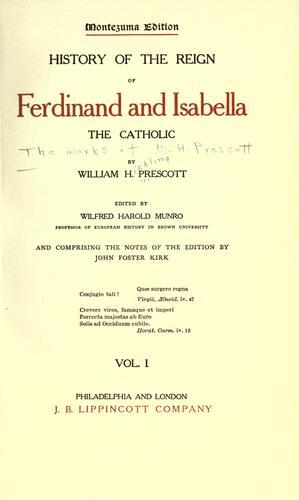 The works of William H. Prescott…