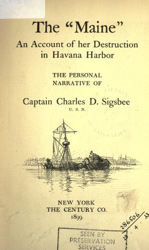 "The ""Maine"" by Charles Dwight Sigsbee"