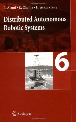 Distributed autonomous robotic system 6 by