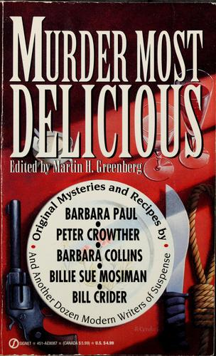 Murder most delicious by Martin H. Greenberg