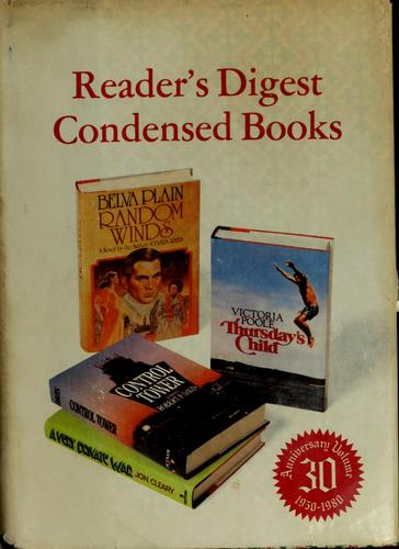 Reader's digest condensed books by Victoria Poole