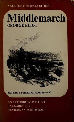 Middlemarch, by G. Eliot by George Eliot