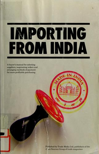 Importing from India by